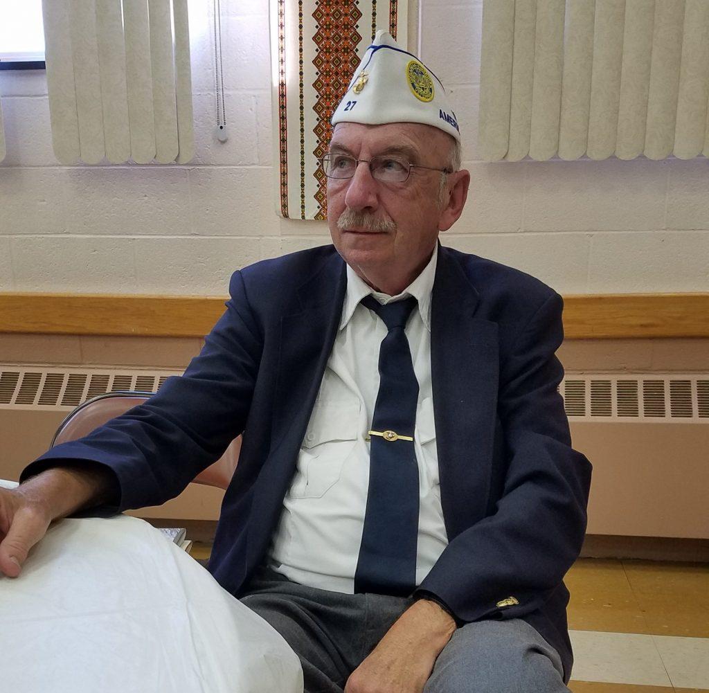 Peter Polnyj, NY State Commnader, Ukrainian American Veterans (UAV)