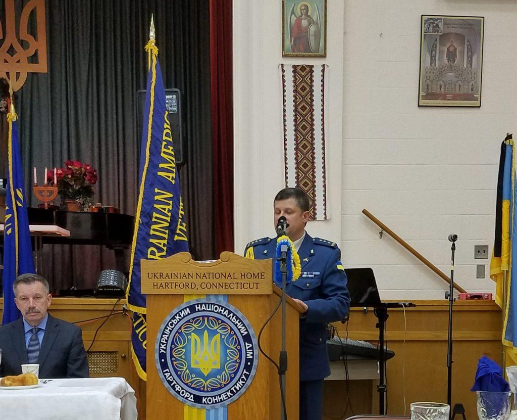 Ukrainian Military Air Attaché Volodymyr Humeniuk