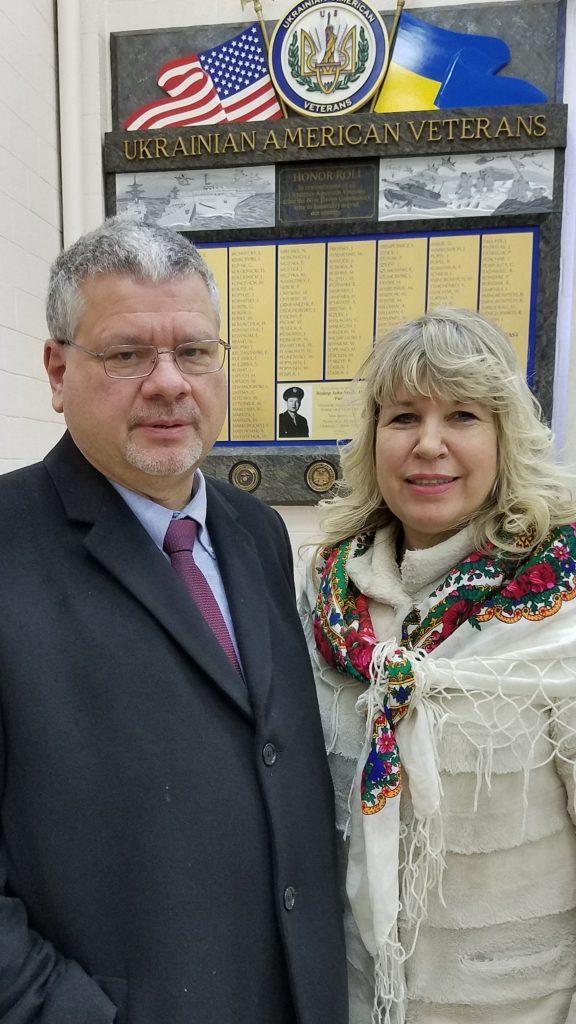 yron Kolinsky and Halia Lodynsky from UCCA
