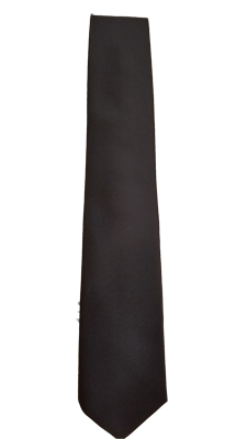 Navy blue UAV necktie