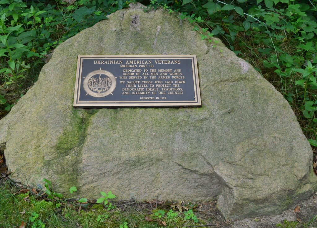 UAV Post 101 monument dedicated in 1996